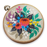 Cross Stitch Club — Color by Numbers with a Hoop 1.4.34 MODs APK
