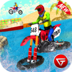 Beach Water Surfer Dirt Bike: Xtreme Racing Games  MODs APK 1.0.6