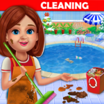 Big Home Cleanup and Wash : House Cleaning Game v3.0.7  MODs APK