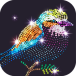 Diamond Coloring – Sequins Art & Paint by Numbers  MODs APK 1.6.2