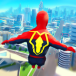 Super Heroes Fly: Sky Dance – Running Game  MODs APK 0.9