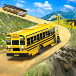 Offroad School Bus Driving: Flying Bus Games 2020  MODs APK 1.43