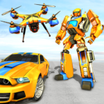 Drone Robot Car Game – Robot Transforming Games MODs APK 1.1.3