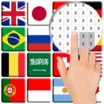 Flags Color By Number – Pixel Art MODs APK 6.0