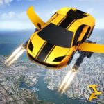 Flying Robot Car Games – Robot Shooting Games 2020 MODs APK 2.1