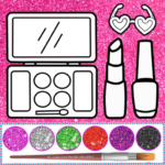 Glitter beauty coloring and drawing MODs APK 4.4