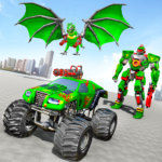 Monster Truck Robot Wars – New Dragon Robot Game MODs APK 1.1.4