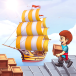 Pocket Ships Tap Tycoon: Idle Seaport Clicker MODs APK 0.5.6
