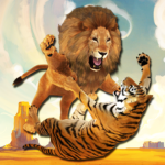 Ultimate Lion Vs Tiger: Wild Jungle Adventure MODs APK 2.1