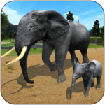 Wild Elephant Family Simulator MODs APK 2.0