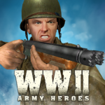 World War 2 Frontline Heroes: WW2 Commando Shooter MODs APK 1.2.3