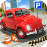Classic Car Parking Real Driving Test MODs APK 1.8.0