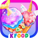 Unicorn Chef: Mermaid Cooking Games for Girls MODs APK 3.4