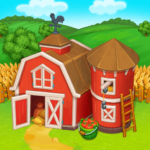 Farm Town: Happy village near small city and town MODs APK 3.50