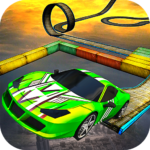 Impossible Stunt Car Tracks 3D MODs APK 1.5