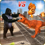 Monster Dino Vs King Kong-City Rampage Simulator MODs APK 1.0.4