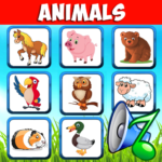 Animal sounds. Learn animals names for kids MODs APK 6.6