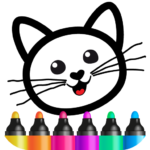 Bini Drawing for Kids! Learning Games for Toddlers MODs APK