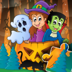 Halloween Puzzle for kids & toddlers 🎃 MODs APK 2021.39