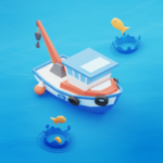 Fish idle: hooked tycoon. Fishing boat, hooking MOD (Unlimited Money) 4.0.17