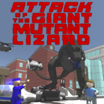 Attack of the Giant Mutant Lizard MOD (Unlimited Money) 1.1.2