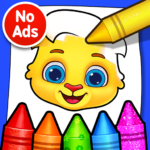Coloring Games: Coloring Book, Painting, Glow Draw MOD (Unlimited Money) 1.1.6