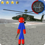 Stickman Spider Rope Hero Gangstar City MOD (Unlimited Money) 6.0