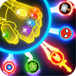Super Hero Knife Battle_Free App MOD (Unlimited Money) 1.6