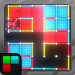 Dots and Boxes (Neon) 80s Style Cyber Game Squares MOD (Unlimited Money) 2.1.25