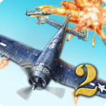 AirAttack 2 – WW2 Airplanes Shooter MODs APK 1.5.0