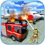 American Fire Fighter 2019: Airplane Rescue MODs APK v0.8