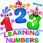 Learning numbers for kids! Writing Counting Games! MOD APK  (Unlimited Money) 2.0.6.1
