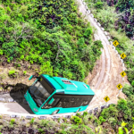 Offroad Mountains Bus Driving Simulator:Coach Game MOD APK  (Unlimited Money) 1.6