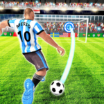 Real Football Player: Soccer Strike League Game MOD APK  (Unlimited Money) v1.7