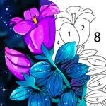 Coloring Book: Color by Number Oil Painting Games MOD APK  (Unlimited Money) 1.551